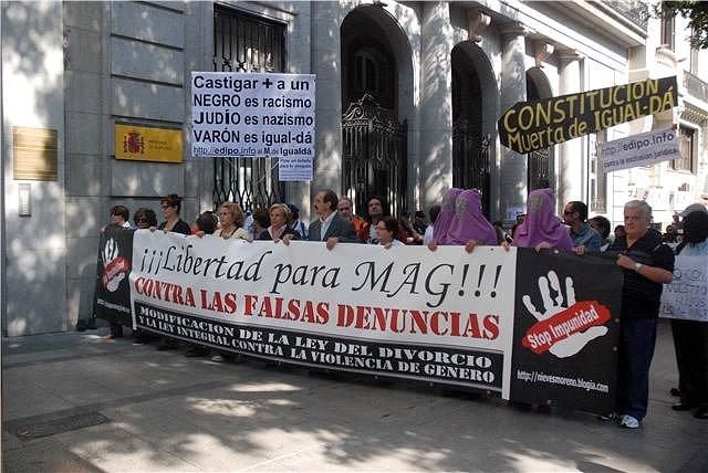 Manifestación de Madrid