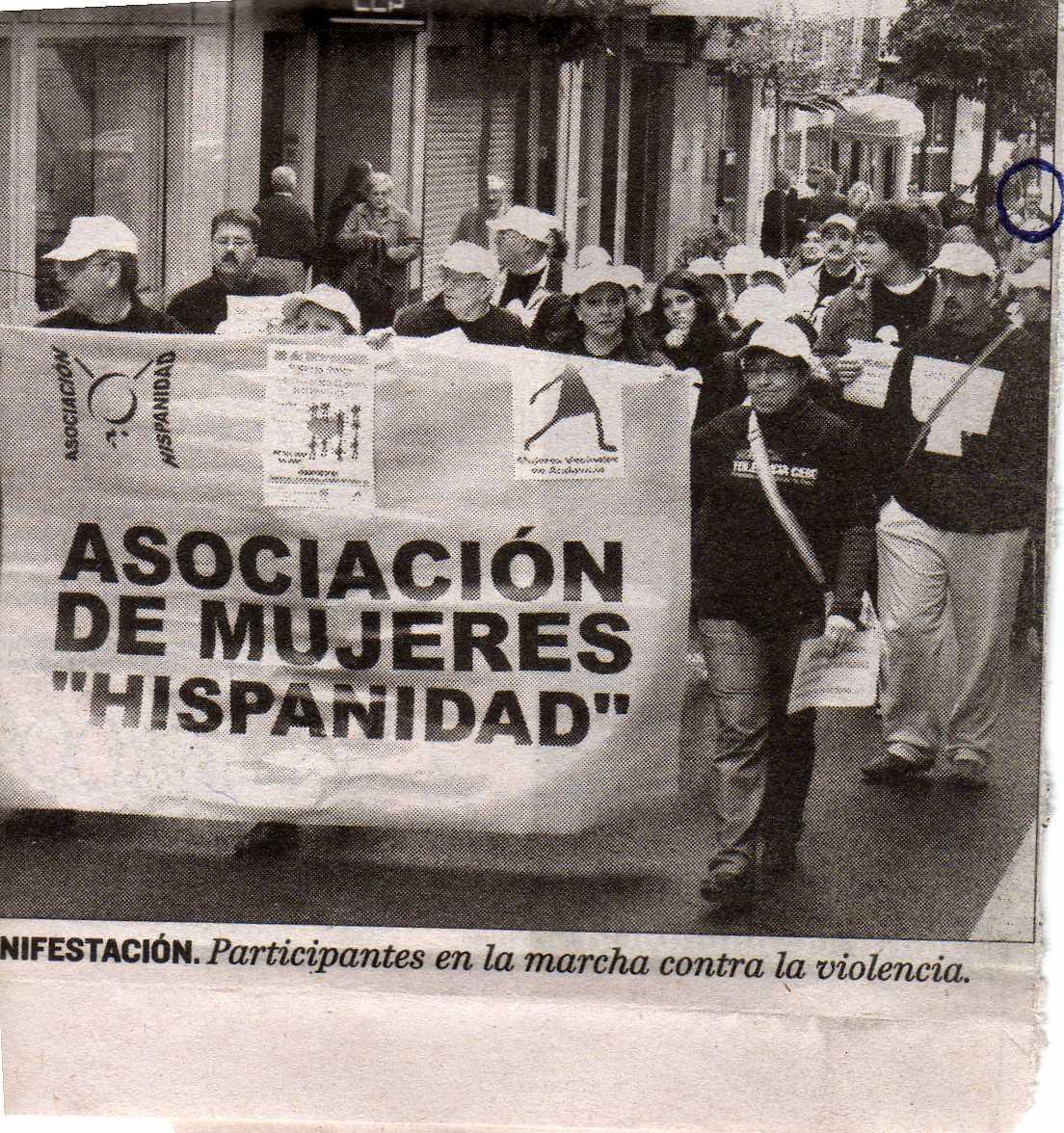 manifestacion contra violencia de genero